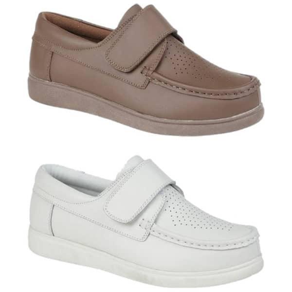 DEK Touch Fastening Velcro Mens Bowls Shoes