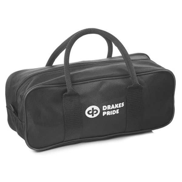 Drakes Pride 2 Bowl & Jack Zipped Bag Black