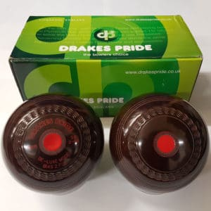 Drakes Pride Deluxe Brown Crown Green Bowls
