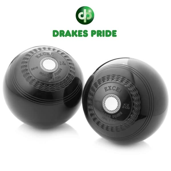 Drakes Pride Low Density Excel Bowls Black