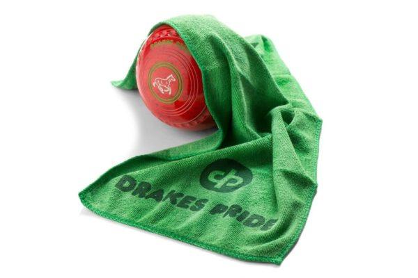 Drakes Pride Microfibre Bowls Towel Green