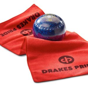 Drakes Pride Microfibre Bowls Towel Red