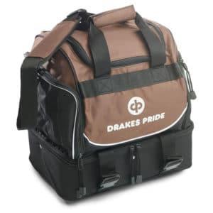 Drakes Pride Pro Midi Bowls Bag Brown