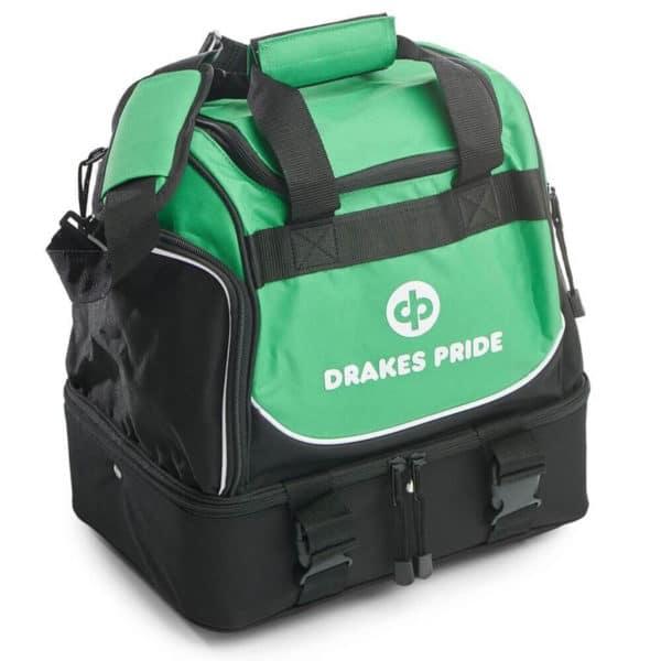 Drakes Pride Pro Midi Bowls Bag Green