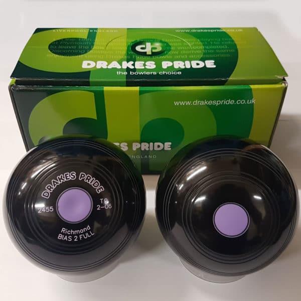 Drakes Pride Richmond Black Bowls