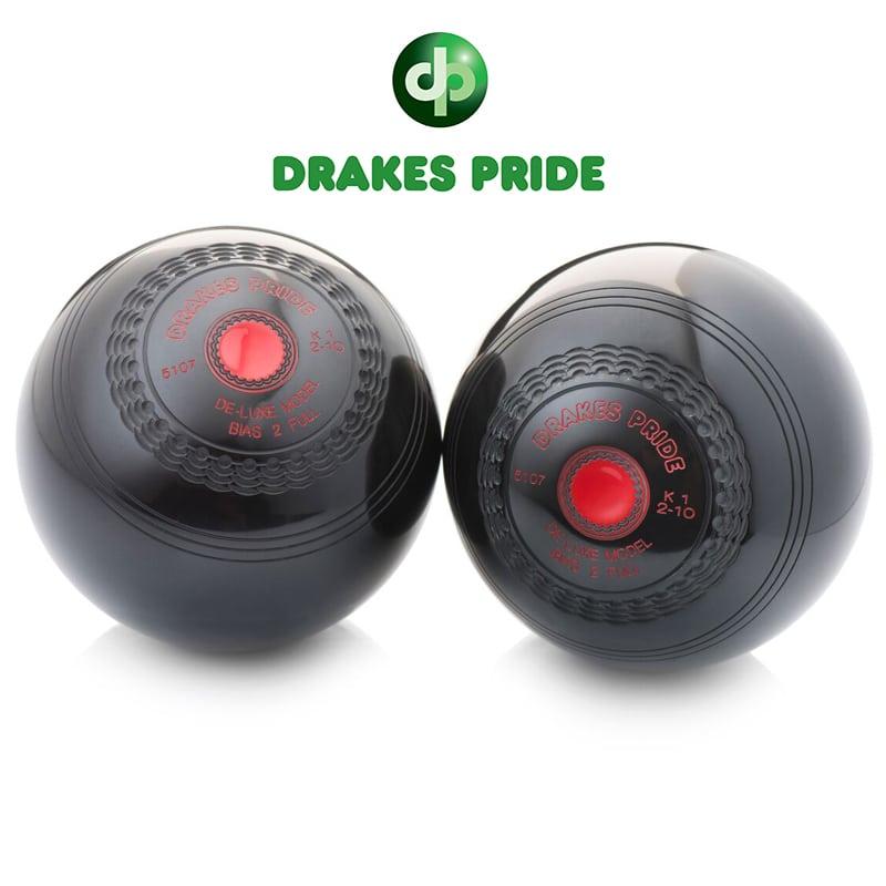 Taylor Grippa Pair Black High Density Crown Green Bowls