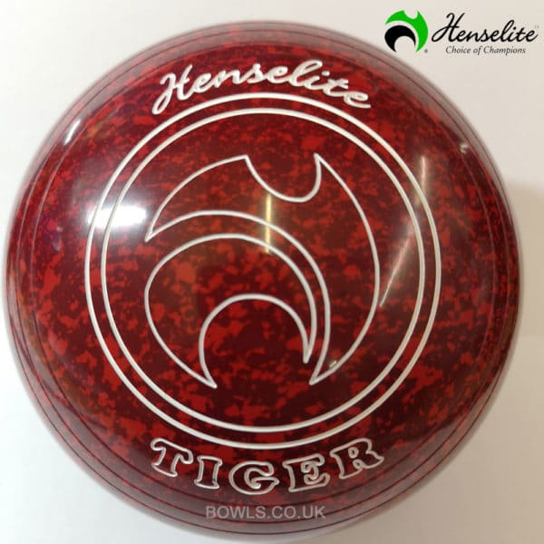 Henselite Tiger Ruby Rich Non Gripped Size 4