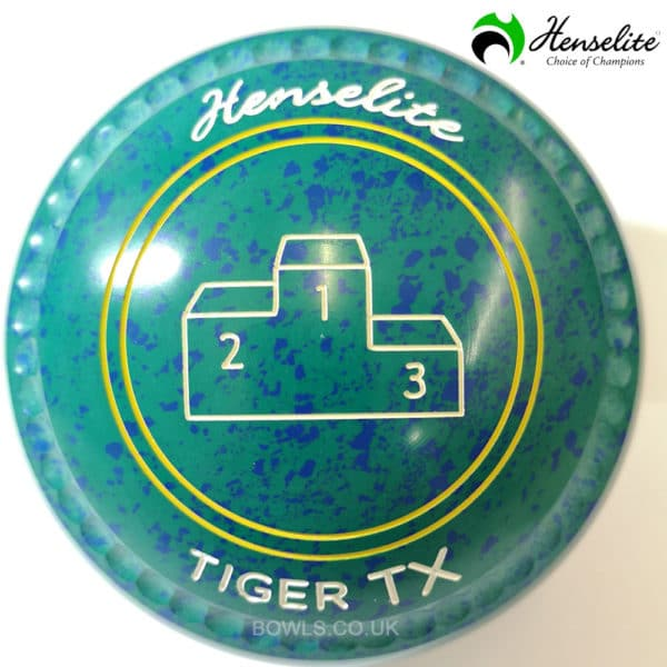 Henselite Tiger TX Ocean Green Size 3