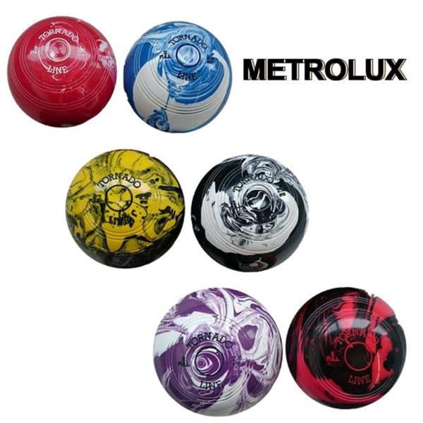 Metrolux Tornado Line Marble Bowls Standard Density