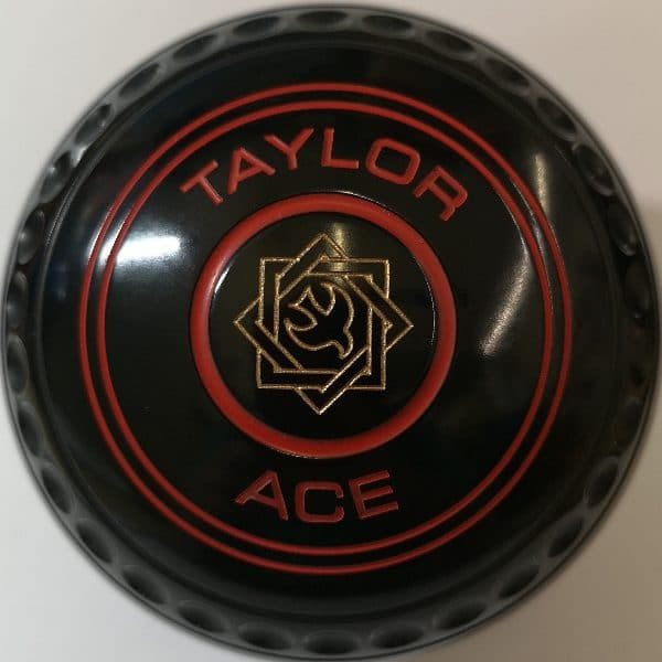 Taylor Ace Black 00 Geo Red Rings