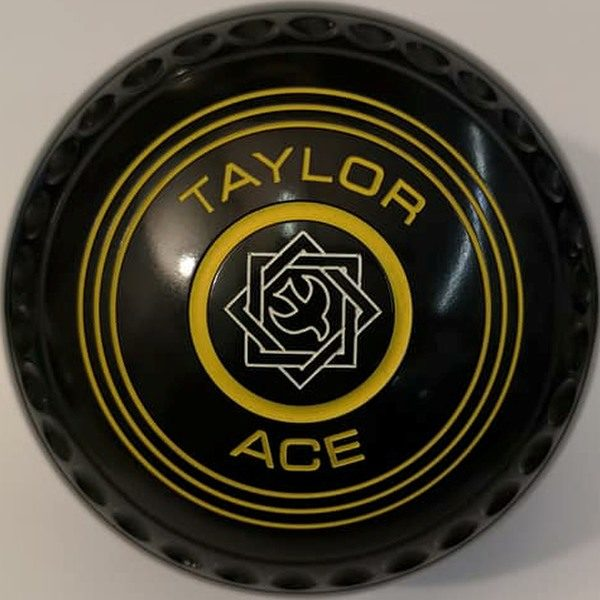 Taylor Ace Black 2 Geo Emblem Yellow Rings