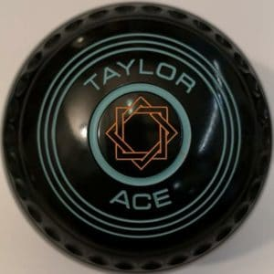 Taylor Ace Black Size 2 Geo Emblem Mint Rings