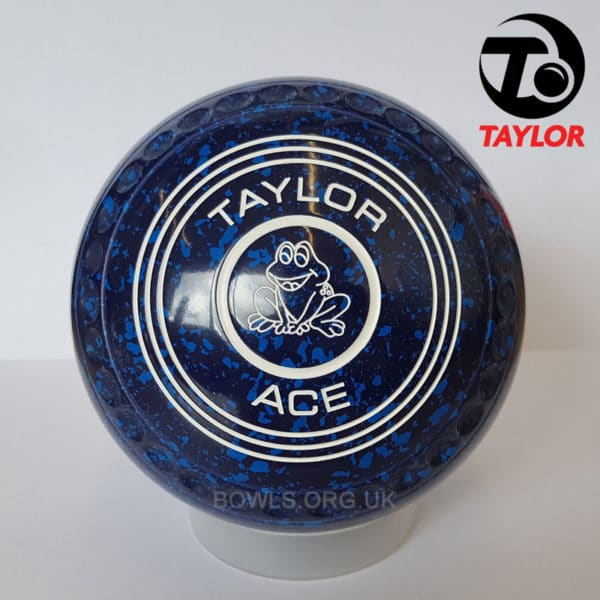 Taylor Ace Progrip Coloured Bowls Dark Blue Frog