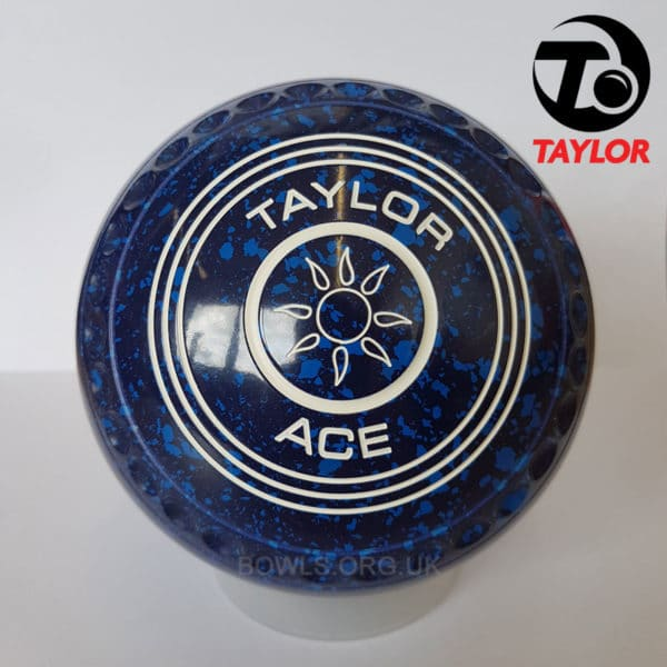 Taylor Ace Progrip Coloured Bowls Dark Blue Sun