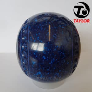 Taylor Ace Progrip Coloured Bowls Dark Blue Sun Side