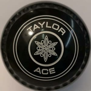 Taylor Ace Size 00 Geo Emblem White Rings