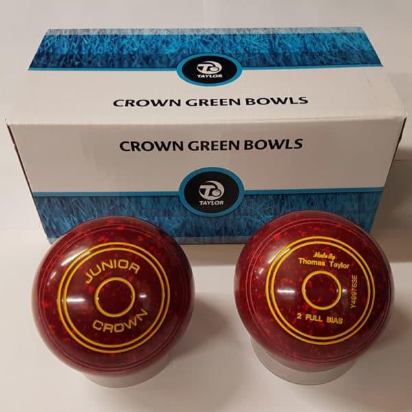 Taylor Bowls Junior Crown Green Bowls