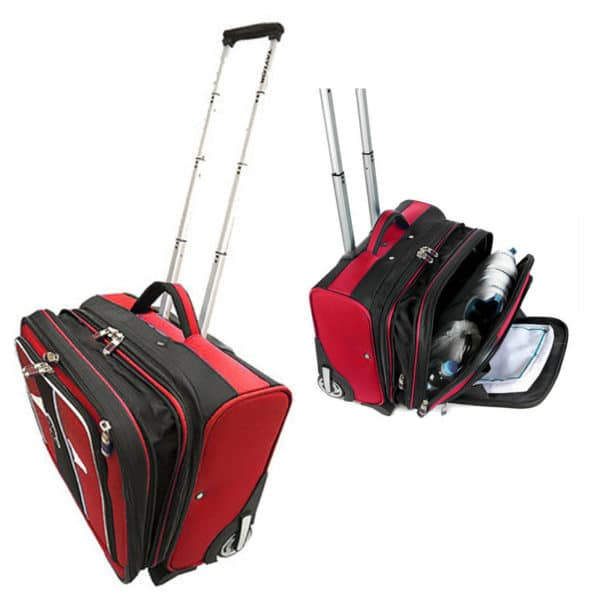 Taylor Bowls Trolley Case Bowls Bag Red