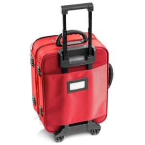 drakes pride bowls locker trolley bag maroon back