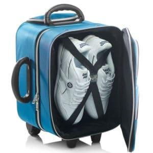 drakes pride bowls locker trolley bag top open