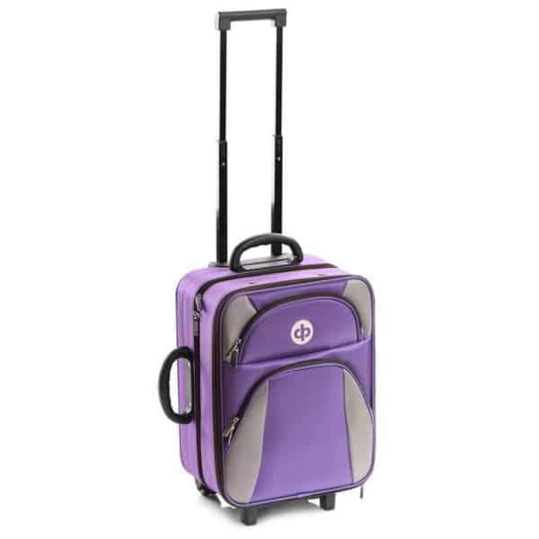 drakes pride bowls trolley bags purple