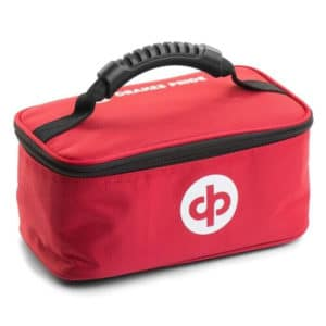 drakes pride dual bowls bag maroon red