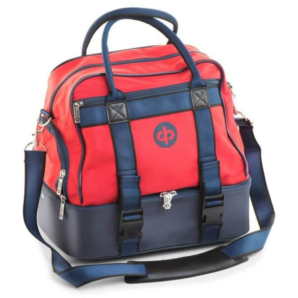 drakes pride midi bowls bag red