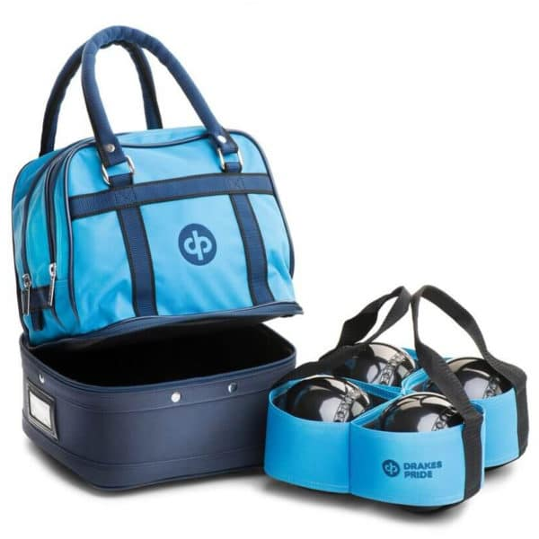 drakes pride mini bowls bag petrol with carrier