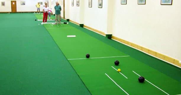 short mat bowls indoors