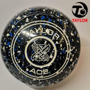taylor ace coloured bowls black blue white size 000