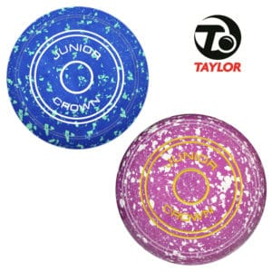 taylor junior crown green bowls